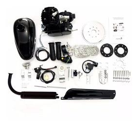 Kit Motor De Bicicleta Gasolina Preto Prata O Melhor Do Ml