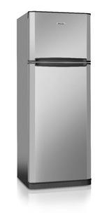 Heladera Philco Phct290 Acero Inoxidable Con Freezer 285l 22