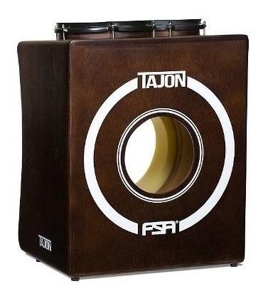 Tajon Fsa Taj10 Bumbo Caixa Tom Cajon Bateria Cor Tabaco