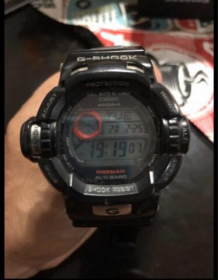 Relógio Casio G-shock 9200 Bateria Solar