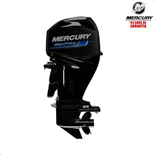 Motor De Popa Mercury 4t 60hp Elpt Efi Ct Seapro Pess Física