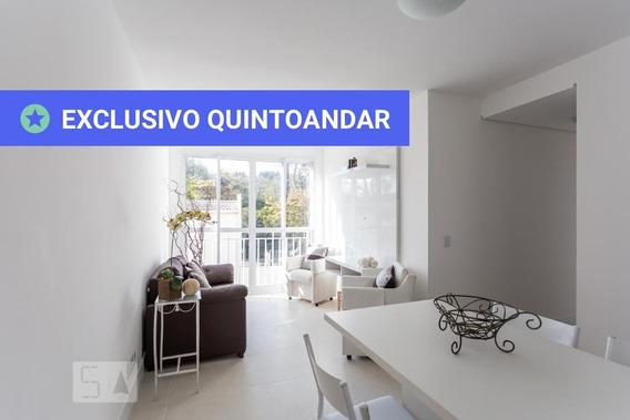 Apartamento No 2º Andar Com 2 Dormitórios E 1 Garagem - Id: 892950071 - 250071