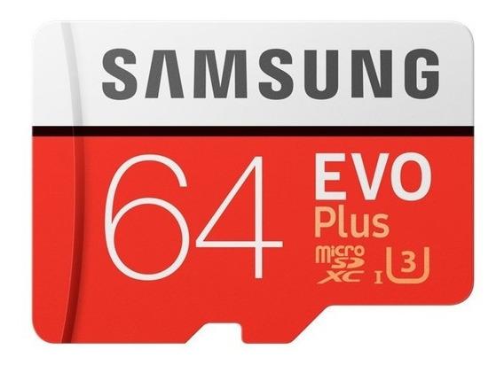 Cartão De Memória Sd Microsd Samsung 64g Tf80m Original