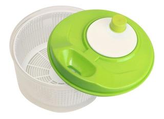 Secador Centrifugador De Verduras Frutas Color Verde