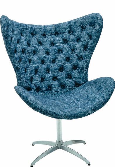 Cadeira Núbia Com Botão