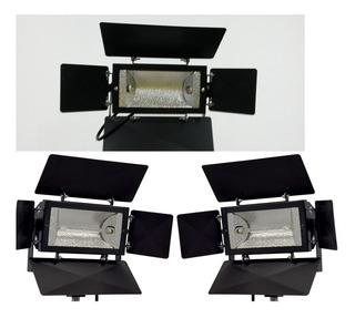Kit De Iluminação Studio 2000 4b Com 3 Tripés [sanjardini]