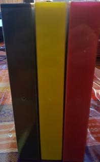 Cajas Vhs X 5 Unidad Colores Varios Amarilla Roja Lila Etc