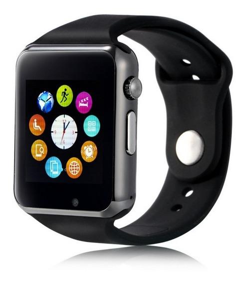 Relógio Smatwhatch Android Bluetooth Whatsap Ligações Touch