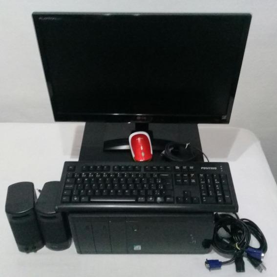 Computador Sim Positivo L3430 Com Monitor Lg 21.5 Pol.