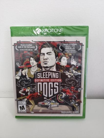 Jogo Xbox One - Sleeping Dogs Definitive Edition - Lacrado
