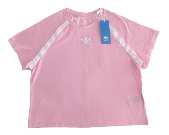adidas Originals Remera Rosa Talle Usa M Exclusiva!