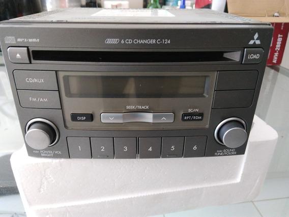 Rádio Mitsubishi Clarion Original 2 Din Pajero Sport/tr4