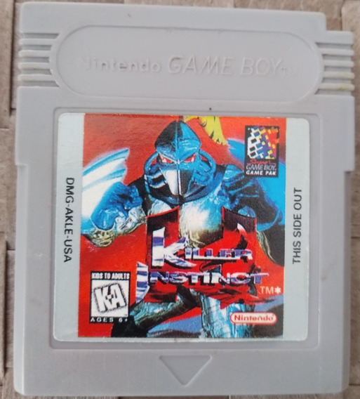 Killer Instinct Original Americano Game Boy Color Gbc Gba
