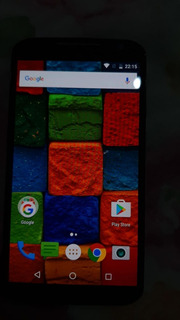Smartphone Moto X Segunda Geração - Tela Trincada