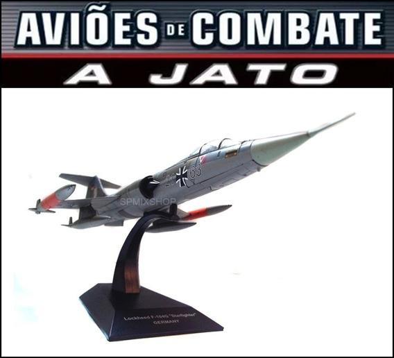 Aviões Combate Lockheed F-104g Starfighter Deagostini