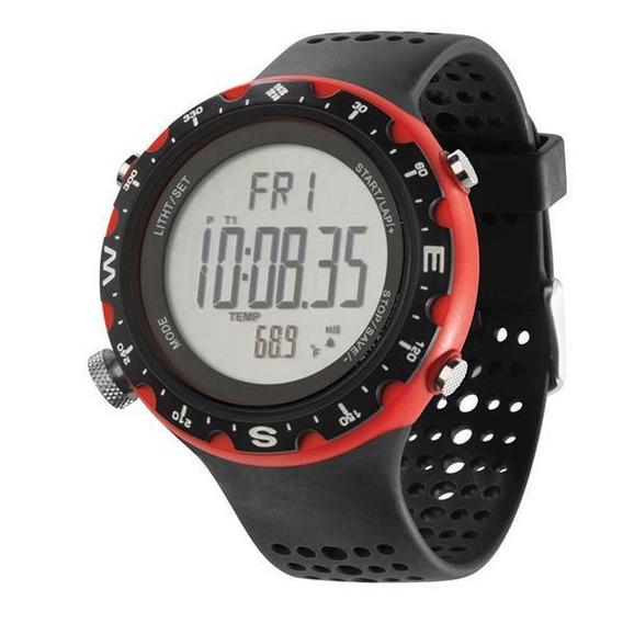 Relógio De Pulso Columbia Singletrak - Preto/vermelho