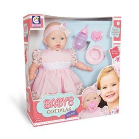 Boneca Faz Pipi Faz Xixi De Verdade Baby