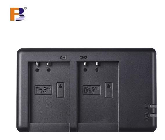 Fb Dual Usb Lp E17 Carregador Bateria Câmera Para Cânone 750
