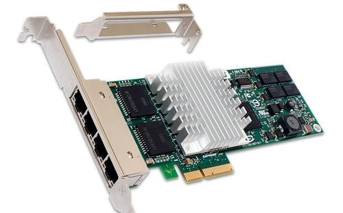 Placa Intel Hp Quad Port Gigabit Pci-express Server En Stock