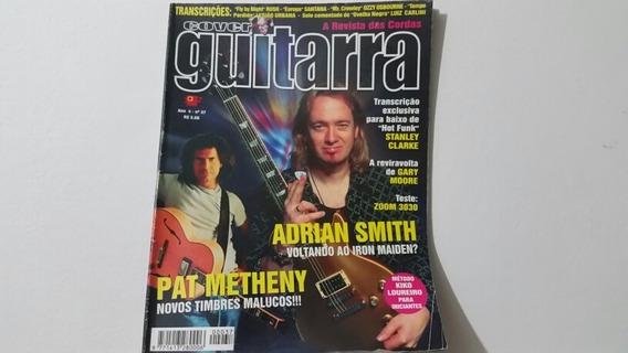 Cover Guitarra 37- Irom Maiden, Pat Metheny