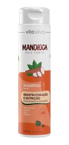 Imagem 1 de 7 de Shampoo Mandioca Lançamento Raiz Forte Vita Seiva 300ml