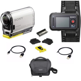 Filmadora Câmera Sony Action Cam Hdr As100v 13.5mp / Fullhd