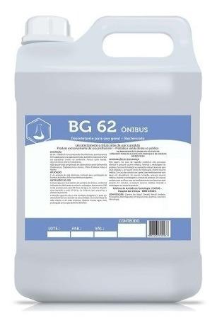 Desodorizante Para Banheiro Químico Bg-62 5litros