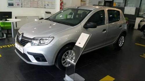 Renault Sandero 1.6 Life $250.000 A Tasa 0% Tomo Permuta  Jl