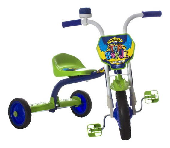 Triciclo Infantil Motoca Velotrol Passeio Buzina Pro Tork