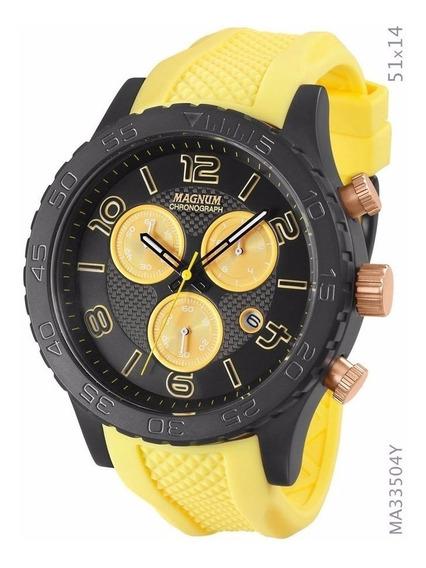 Relógio Magnum Masculino Esportivo Ma33504y