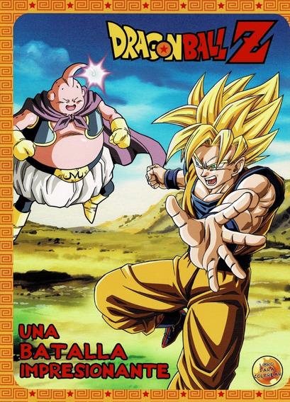 Libro Para Colorear De Dragon Ball Z En Mercado Libre México