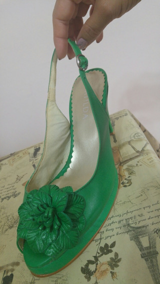 Zapatos Matilda 36 Verde $500