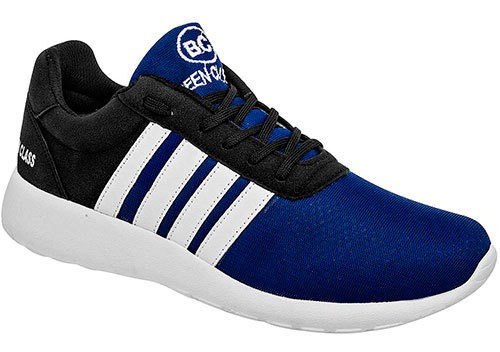Sneaker Deportivo Been Class Azul Sintético Niño J98997 Udt