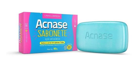 Sabonete Acnase Antiacne Biolab 80g