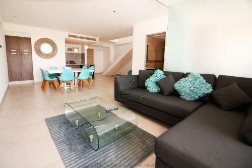 Penthouse Amueblado En Malecon Americas
