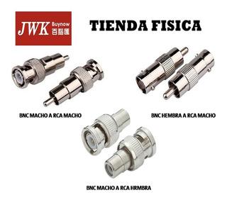 Conectores Bnc A Rca Jwk