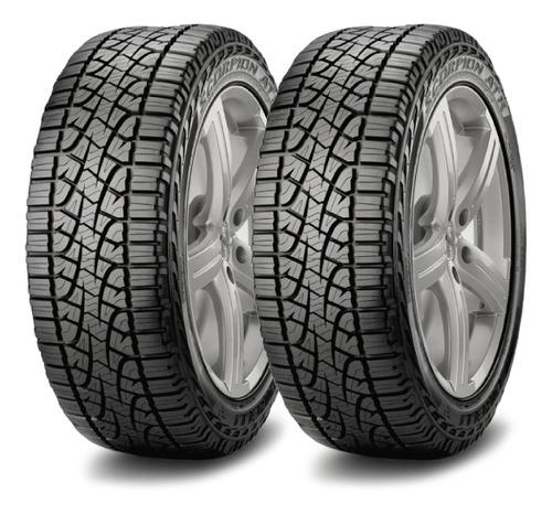 Imagen 1 de 3 de Kit X2 Pirelli 265/60 R18 Scorpion Atr 110h Cuotas