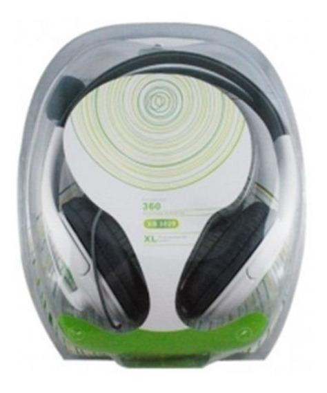 Fone De Ouvido Xbox 360 Microfone Jogos On-line Promoção