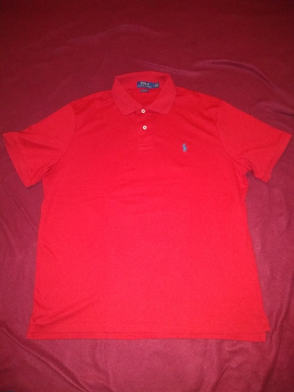 Playera Polo Ralph Lauren Color Rojo