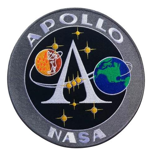 Nasa,alpha, Apollo Parches Y Apliques Bordados.