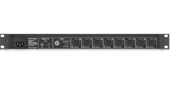 Pré Amp Behringer Ada8200 Ultragain Digital