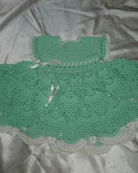 Vestidos De Crochê Para Bebês.