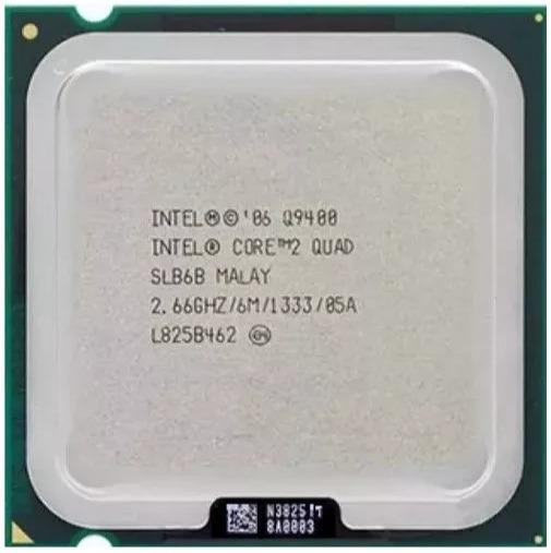 Processador - Core 2 Quad - 2.6 Ghz - Socket 775 - Q9400