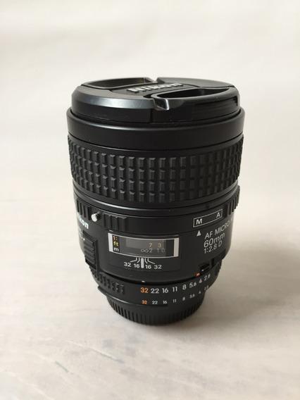 Lente Nikon 60mm F/2.8 D Af Macro
