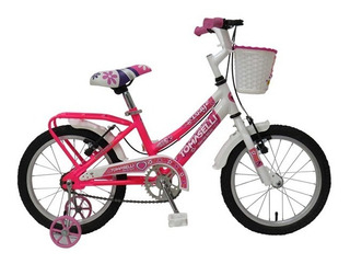 Bicicleta Infantil Rod 16 Niñas Lady Canasto