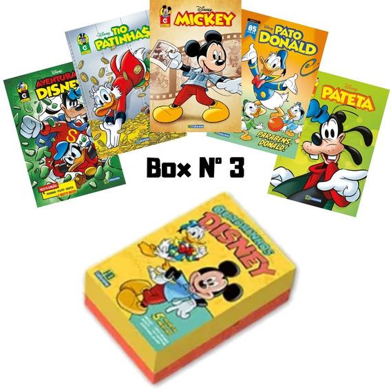 Box Especial 5 Novas Edições Lançamento Disney 2019 Nº 3