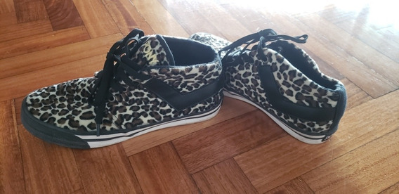 Zapatillas Botitas Pony Animal Print Pelo