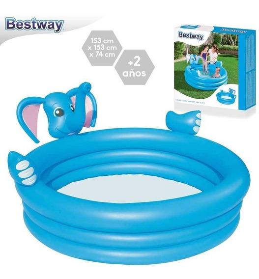 Pileta Infantil Inflable Elefante 152cm Niños Bestway 53048