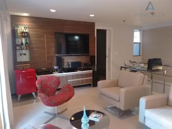 Cobertura Com 3 Dormitórios À Venda, 120 M² Por R$ 850.000 - Meireles - Fortaleza/ce - Ap0317