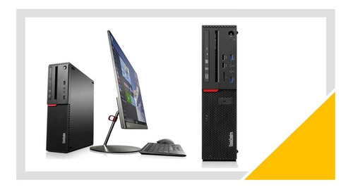 Desktop Lenovo Thinkcentre M720s Sff I5-7400 8gb Ssd 240gb